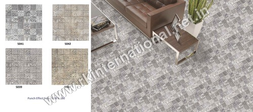 600 X 600 Rustic Punch Series Porcelain Tiles
