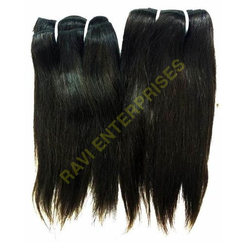 Non Remy Indian Human Hair Extensions