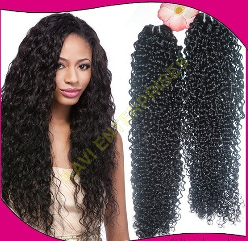 Non Remy Deep Curly Human Hair