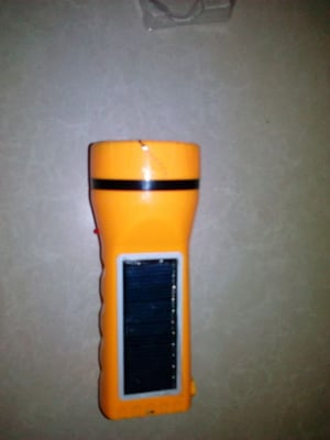 Mini Solar Rechargeable Torch
