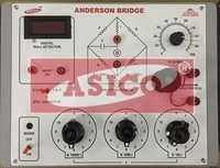 Anderson Bridge with Oscillator and Null Detector