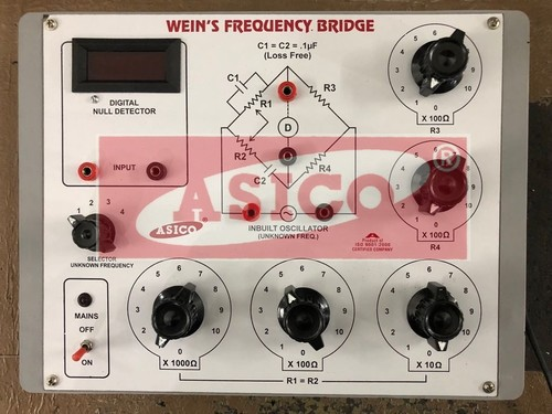Weins Bridge (Frequency Measurement)