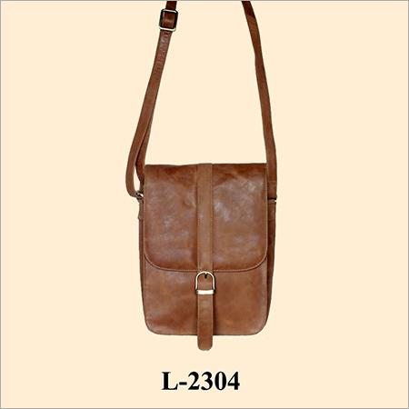 Leather Ladies Sling Bags