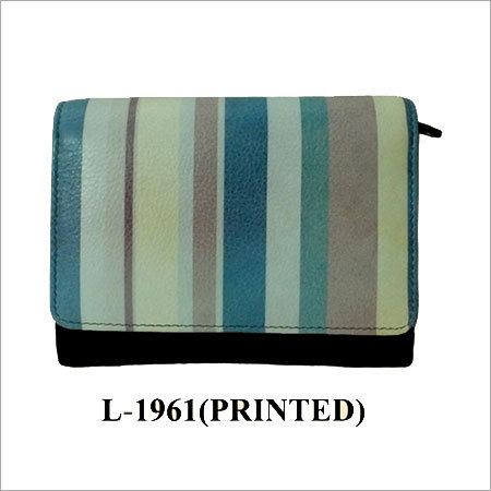Printed Leather Wallets