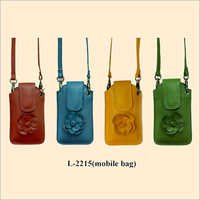 Leather Mobile Phone Bags