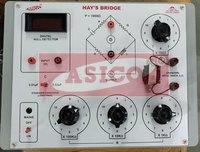 Hay Bridge with Oscillator and Null Detector