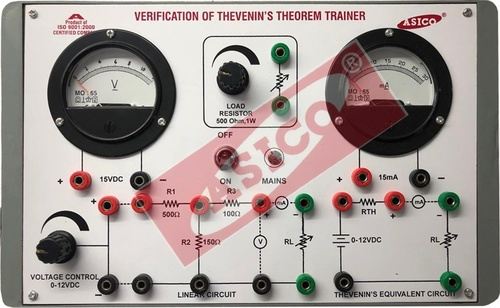 Verification Of Thevenin's Theorem