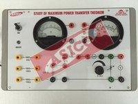 Verification Of Maximum Power Transfer Theorem