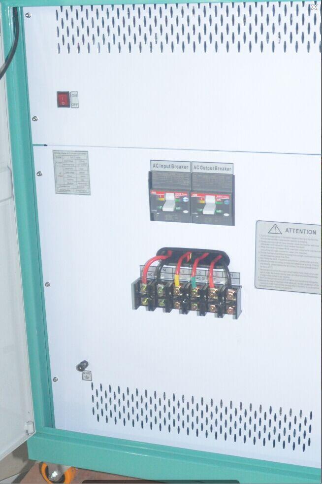 Split Phase 120/240V to 3 Phase 380V Converter