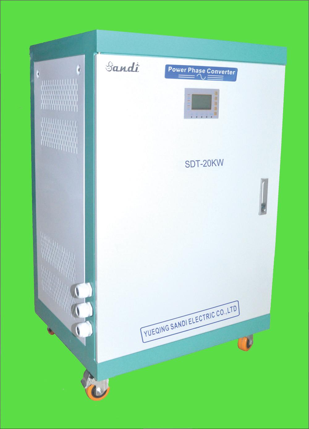 6kw Ac-Ac 1ph 230v To 3ph 400v Converter