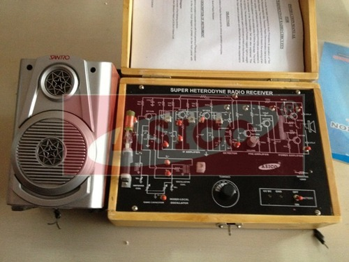 Superhetrodyne Radio Receiver Trainer (AM/FM)
