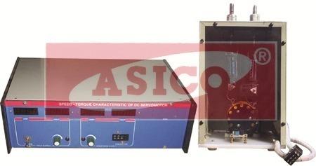 Speed Torque Characteristics of DC Servomotor
