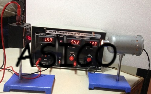 Plancks Constant by Solar Cell