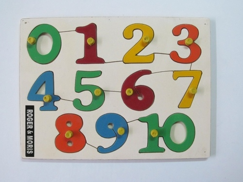 Numbers Puzzle 0-10