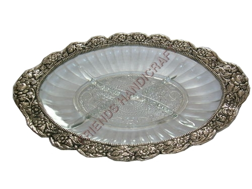 Glass-Metal-Tray