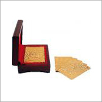 24 KT Gold Plated Playing Cards
