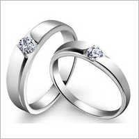 925 Sterling Silver Couple Ring