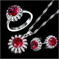 925 Sterling Silver Pendant Set
