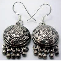 925 Sterling Silver Antique Earrings