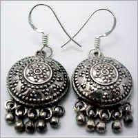 925 Sterling Silver Antique Earrings