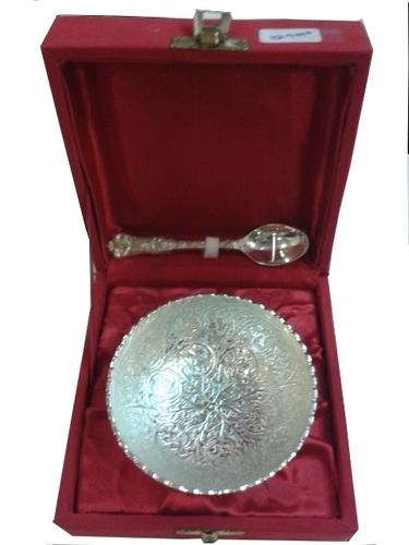 Round Bowl & Spoon-5013