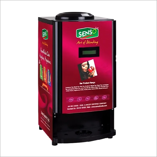 Four Option Tea Coffee Vending Machine