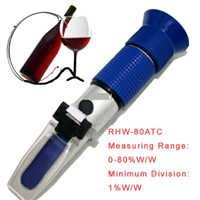 Refractometer Alcohol % In Wine Bottle