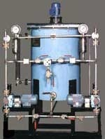 chemical dosing skid