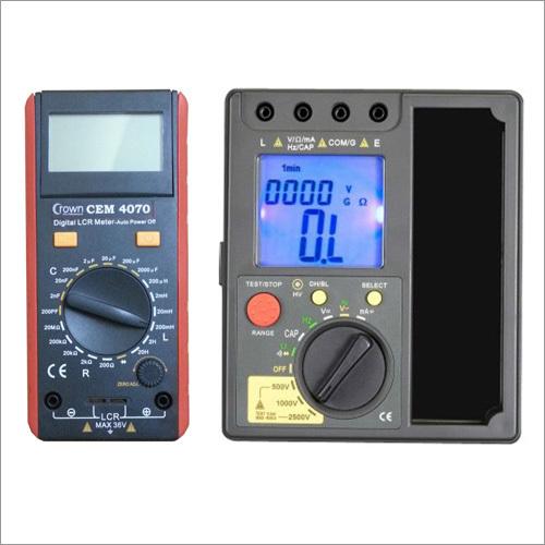 Digital LCR Meter / Insulation Tester