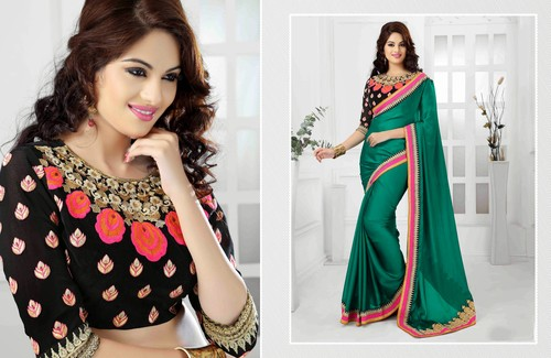Beautiful Embroidered Saree