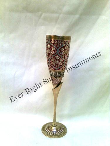 Brass Wine Glass