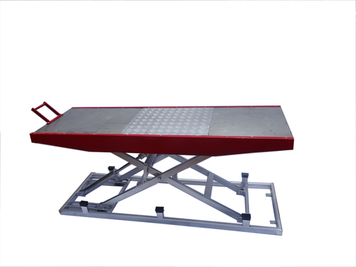 Hydraulic Platform Service Ramp