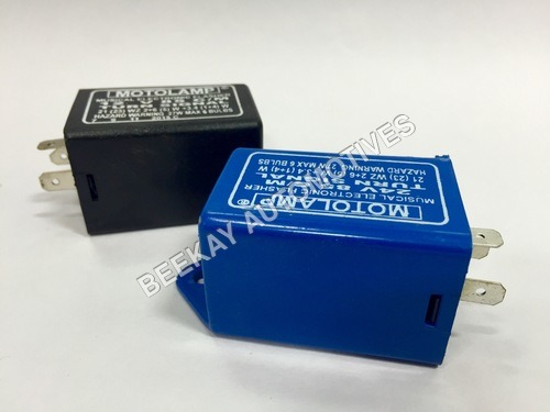 ELECTRONIC FLASHER WITH BEEPER