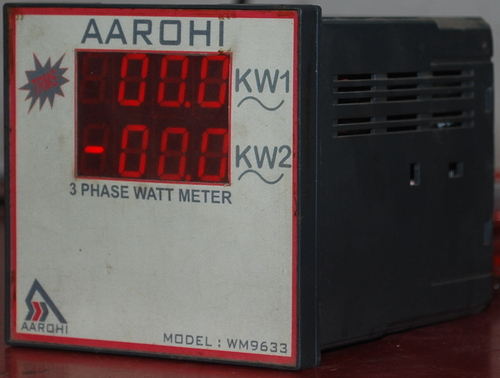 Three Phase Watt Meter