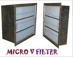 Microwave V Filter