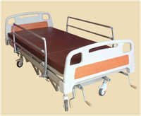 - ICU-BED-HO-LO-HYDRAULIC-ABS-PANELS-SIDE-RAILINGS -AND- MATTRESS