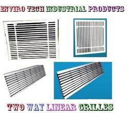 Two Way Linear Grilles