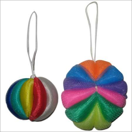 Bath Ribbon Scrubbers