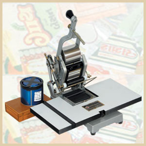 HAND OPERATED BATCH CODE PRINTING MACHINE