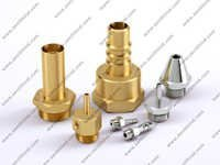 Brass Nipple and Nozzle