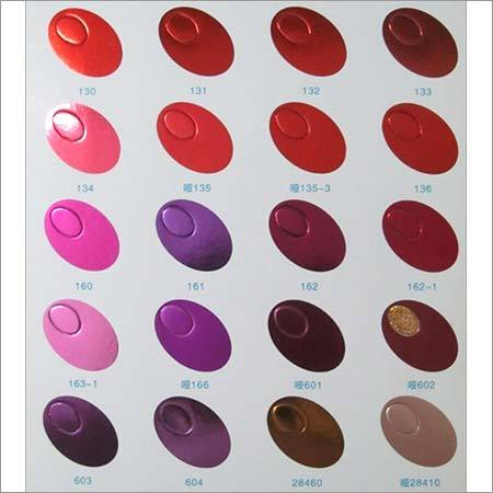 Metallic Colours Hot Stamping Foil