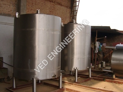 Insulated Storage Tanks
