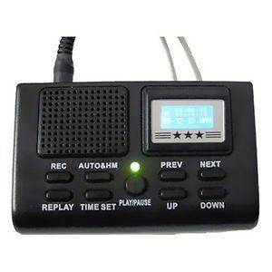 Single Line Phone Recorder