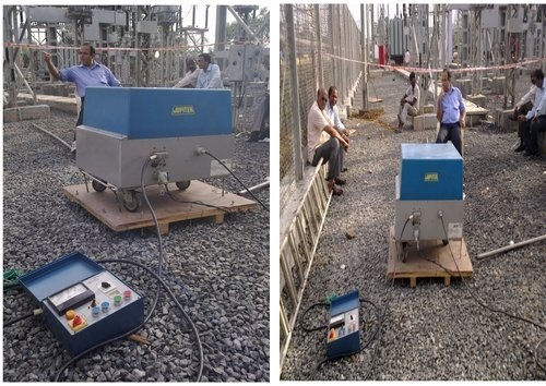 0.1 Hz VLF Testing of 110 KV Cable in Mumbai