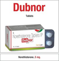 Norethisterone 5 mg.