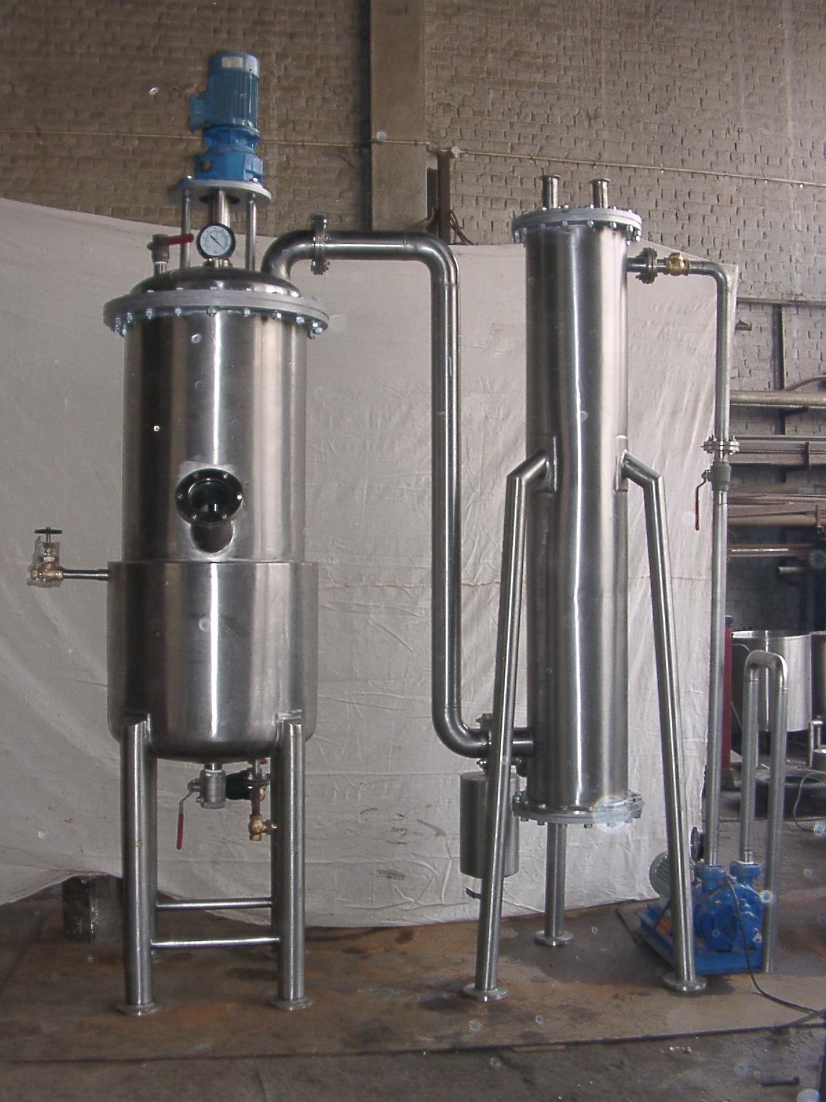Vacuum Pan System