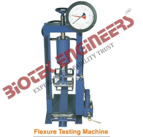 Flexture testing machine