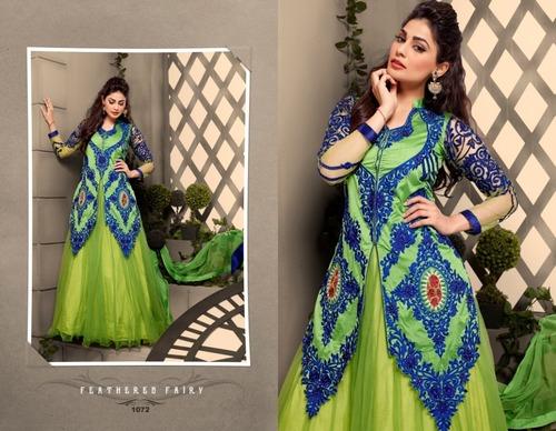Anarkali Dress Material