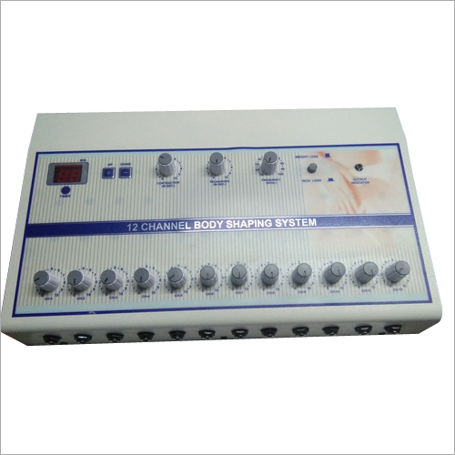 LCD 12 CH Body Shaping System