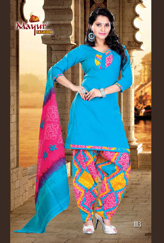 Patiala Dress Materials